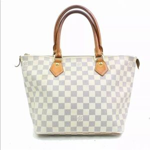 Authentic Louis Vuitton Azur Saleya PM Tote Bag